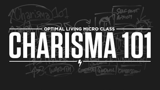 Charisma 101 Micro Class Cover