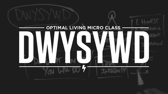 DWYSYWD Micro Class Cover