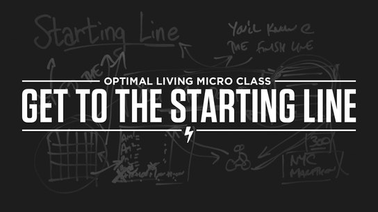 Get to the Starting Line Micro Class Cover