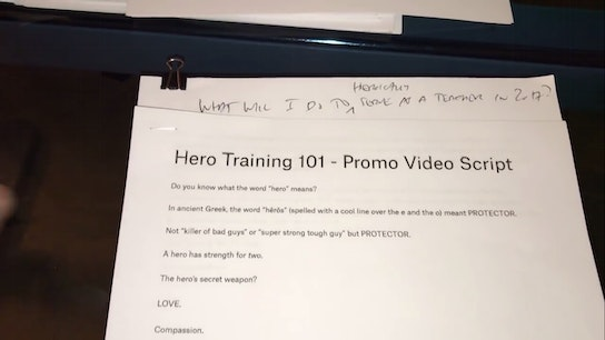 Hero Training 101 (The Manifesto) Micro Class Cover