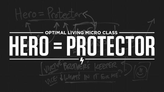 Hero = Protector Micro Class Cover