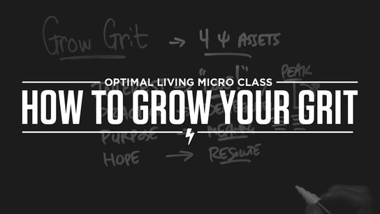How to Grow Your Grit Micro Class Cover