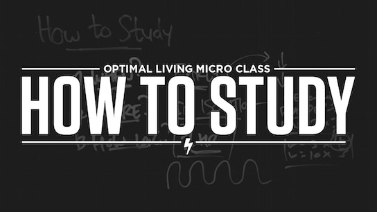 How to Study Micro Class Cover