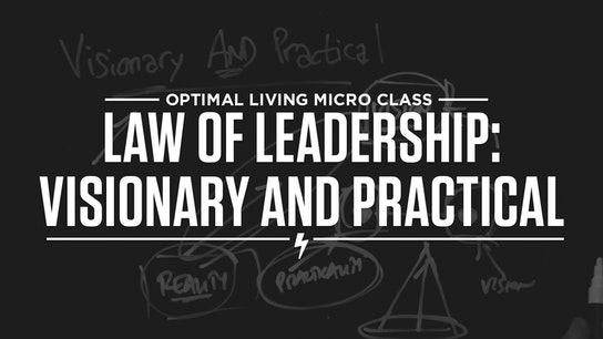 Law of Leadership: Visionary AND Practical Micro Class Cover
