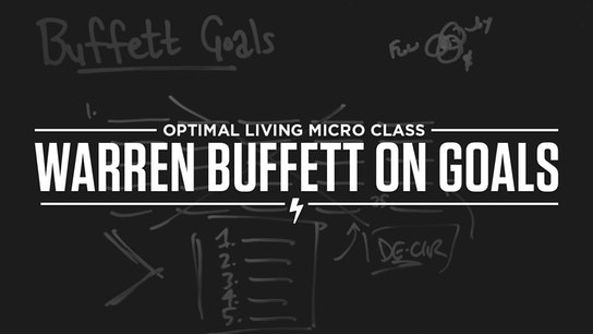 Warren Buffett on Goals Micro Class Cover