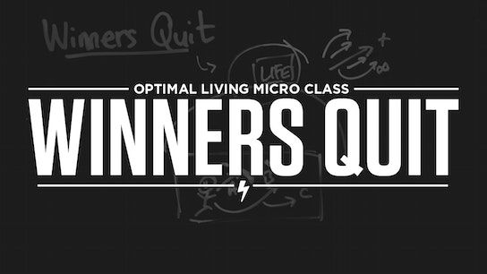 Winners Quit Micro Class Cover