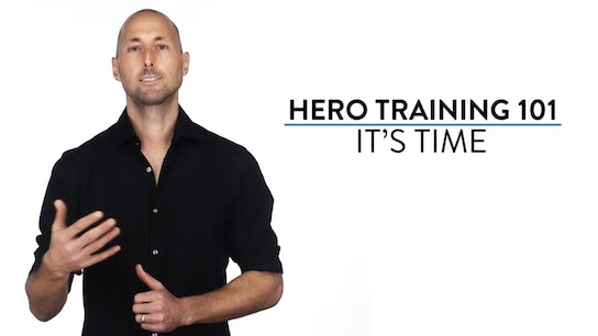 Hero Training 101. It's Time. Micro Class Cover
