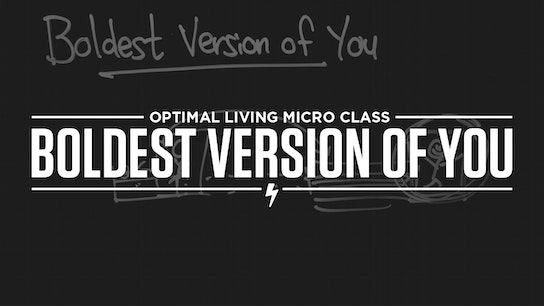Boldest Version of You Micro Class Cover