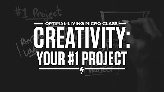 Creativity: Your #1 Project Micro Class Cover