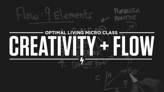 Creativity + Flow Micro Class Cover