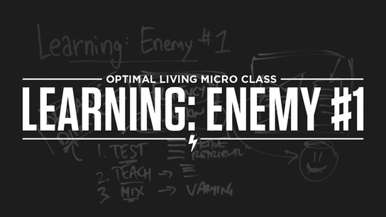 Learning: Enemy #1 Micro Class Cover