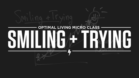 Smiling + Trying Micro Class Cover